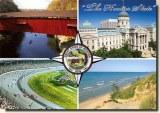 Une carte postale d'Elkhart, IN (Denise)
