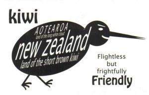 Une carte postale de Rotorua (Robin)