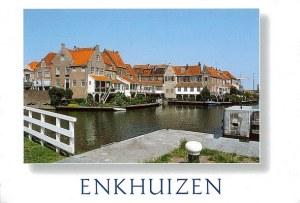 Une carte postale d'Enkhuizen