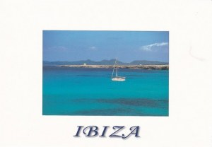 Une carte postale d'Ibiza (Barbie Girls)