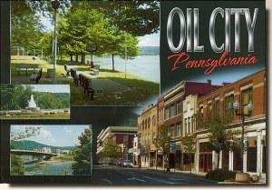Une carte postale de Oil City, PA (Jess)