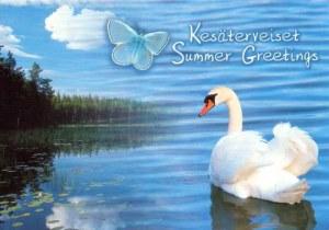 Une carte postale d'Helsinski