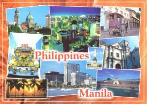 Une carte postale de Manille (Mary)