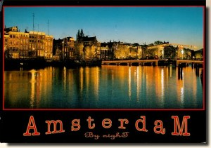 Une carte postale d'Amsterdam (Peter)