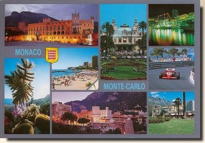 Une carte postale de Juan Les Pins (Christine)