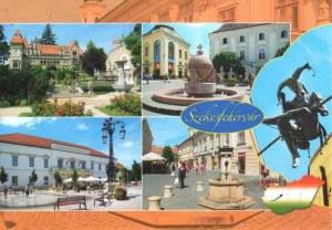 Une carte postale de Székesfehérvár (Orsi)