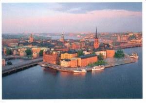 Une carte postale de Södertälje (Rebecka)