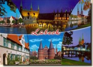 Une carte postale de Lubeck (Grit)