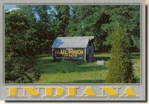 Une carte postale de Paoli, IN (Jenni)