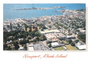Une carte postale de Newport (Jeremy and Lily)