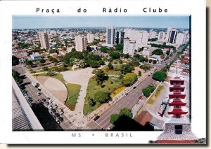 Une carte postale de Campo Grande (Julia)