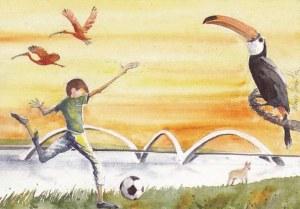 Une carte postale de Brasilia (Sergio)