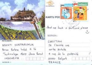 Une carte postale de Jawa Barat (Mianti)