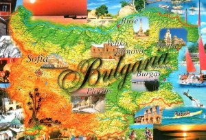Une carte postale de Varna (Cvetelina)