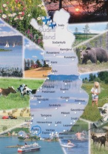 Une carte postale de Turku (Gunnel)
