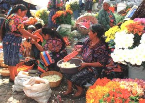 Une carte postale de Mexico