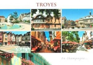 Une carte postale de Troyes (Annick)