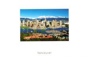 Une carte postale de Vancouver (Sarah)