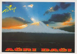 Une carte postale de Dogubeyazit (Boris)