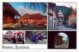 Une carte postale de Kamnik (Karmen)