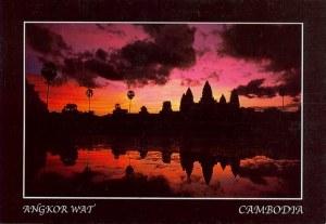 Une carte postale d'Angkor (François le voyageur)