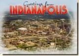 Une carte postale d'Indianapolis, IN (Walt)
