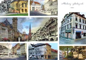 Une carte postale d'Altenbourg (Swal)