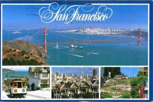 Une carte postale de San Francisco (Laurent, Céline, Lilou, Léonie, Ninon, Faustine)