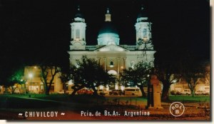 Une carte postale de Buenos Aires (Luciana)