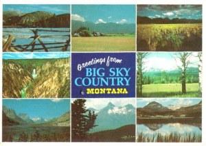 Une carte postale du Montana (La famille Randall)