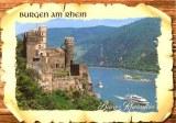 Une carte postale de Dusseldorf (Jasmin)