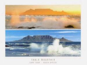 Une carte postale de Le Cap (Gabrielle)