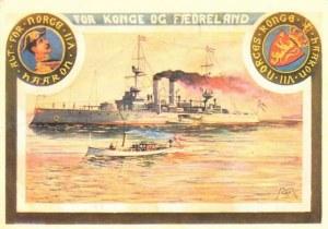 Une carte postale de Trondheim (Helen)