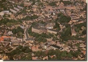 Une carte postale de Leipzig (Ina)