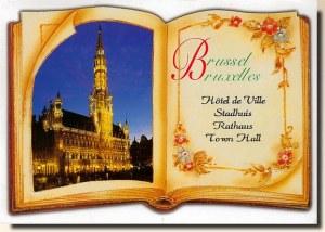 Une carte postale de Bruxelles (Raquel)
