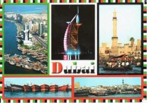 Une carte postale de Dubai (Dina)