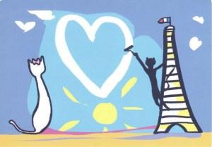 Une carte postale de Paris (Corinne)