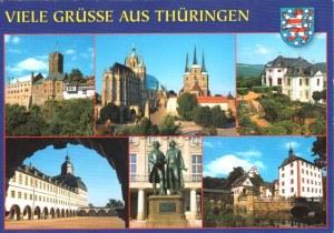 Une carte postale de Thuringe (Agnieszka)