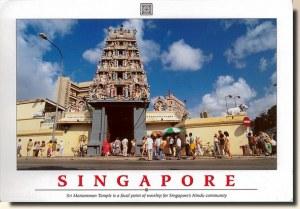 Une carte postale de Singapour