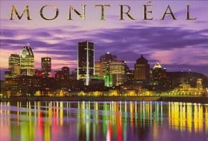 Une carte postale de Montreal