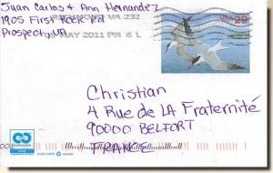 Une carte postale de Prospect, PA (Carlos et Ann)