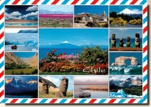 Une carte postale de Santiago (Hernan)