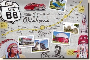 Une carte postale de l'Oklahoma (Randi)