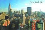 Une carte postale de New York, NY