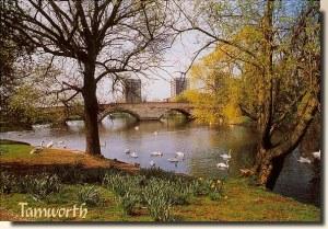 Une carte postale de Tamworth (Naomi) 1