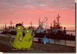 Une carte postale de Hambourg (Gudrun)