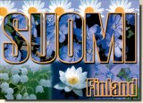 Une carte postale de Suomenniemi (Riita)