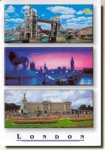 Une carte postale de Londres (Michal)