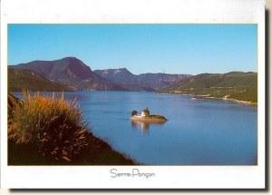 Une carte du lac de Serre-Ponçon, (les 3L et Céline)