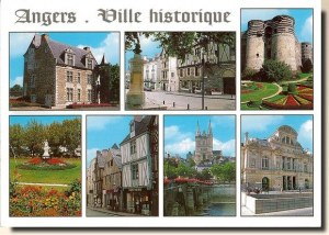 Une carte d'Angers (Céline)